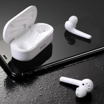 Juhtmevabad kõrvaklapid musta värvi Baseus 10