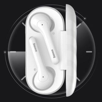 Juhtmevabad kõrvaklapid musta värvi Baseus 11