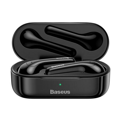 Juhtmevabad kõrvaklapid musta värvi Baseus 16