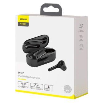 Juhtmevabad kõrvaklapid musta värvi Baseus 19