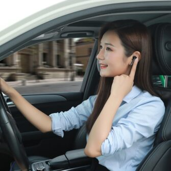 Juhtmevabad kõrvaklapid musta värvi Baseus 2