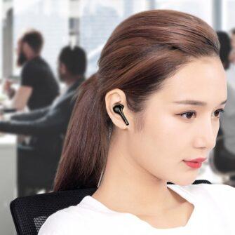 Juhtmevabad kõrvaklapid musta värvi Baseus 8