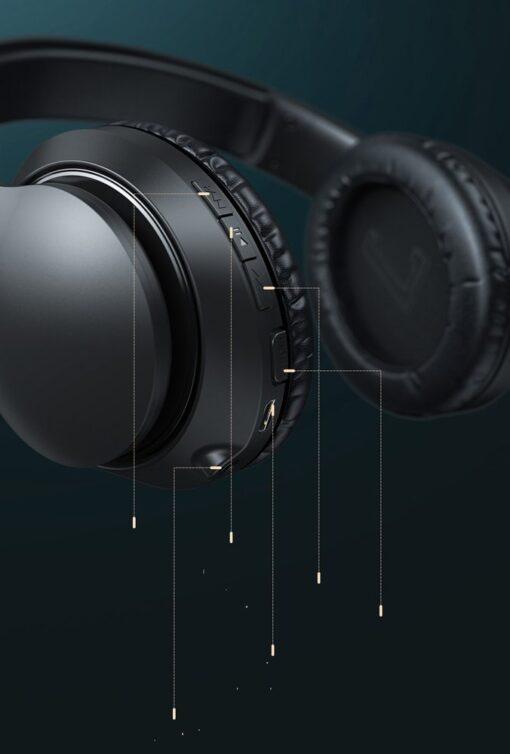 Juhtmevabad kõrvapealsed kõrvaklapid bluetooth 6
