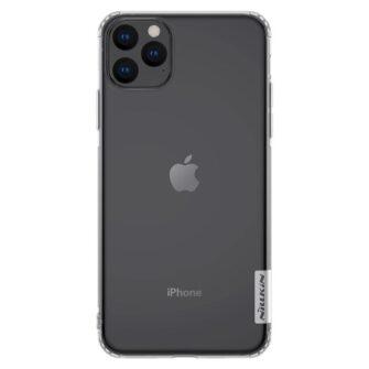 Apple iPhone 11 läbipaistvast silikoonist ümbris