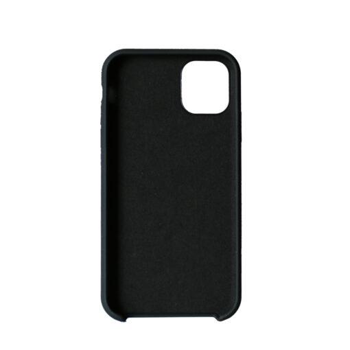 iPhone 11 kaaned silikoonist musta värv taganti 1