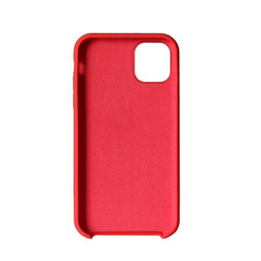 iPhone 11 punased silikoonist kaaned tagant