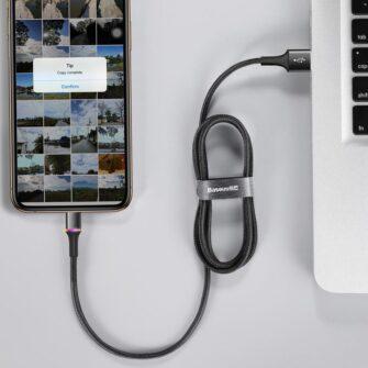 Apple iPhone laadija juhe must led 1m 12