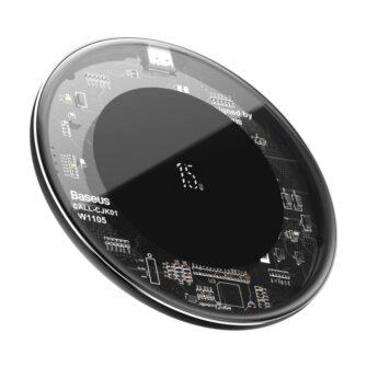 Juhtmevaba laadija qi 15w läbipaistev transparent 1