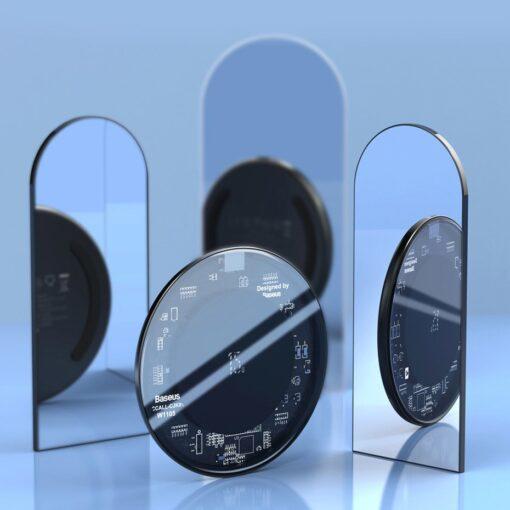 Juhtmevaba laadija qi 15w läbipaistev transparent 12