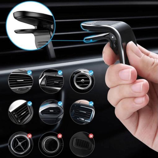 Magnetiga autohoidik ventilatsiooniavasse 7