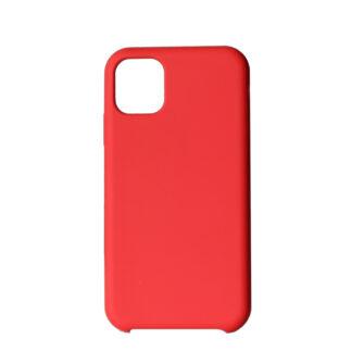 iPhone 11 Pro max kaaned punast värvi silikoonist