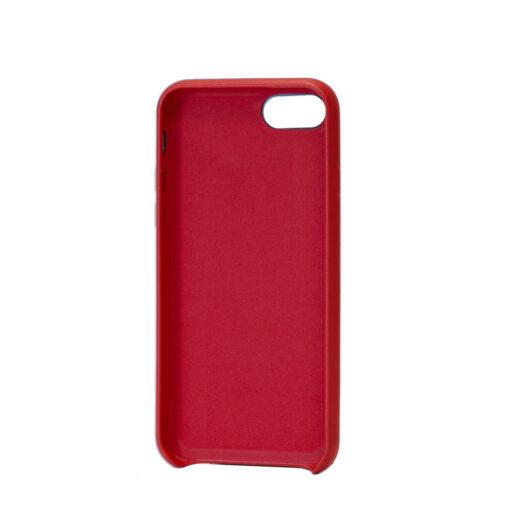 iPhone SE 2020 iPhone 8 iPhone 7 kaaned kunstnahast punane tagantt
