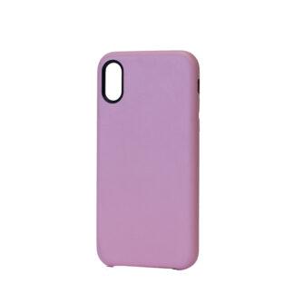 iPhone X ja XS kaaned nahast roosad
