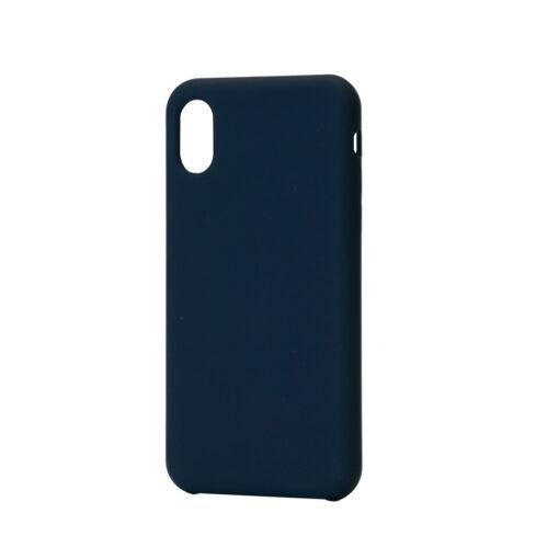 iPhone XS ja X silikoonist ümbris sinine