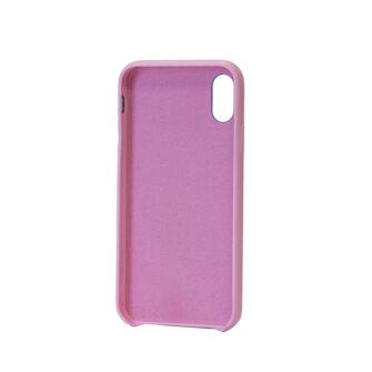 iPhone XR kaaned kunstnahast roosad tagant 1