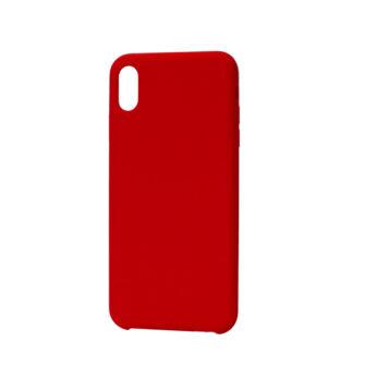 iPhone XS max kaaned silikoonist punane