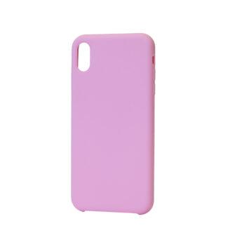 iPhone XS max kaaned silikoonist roosa