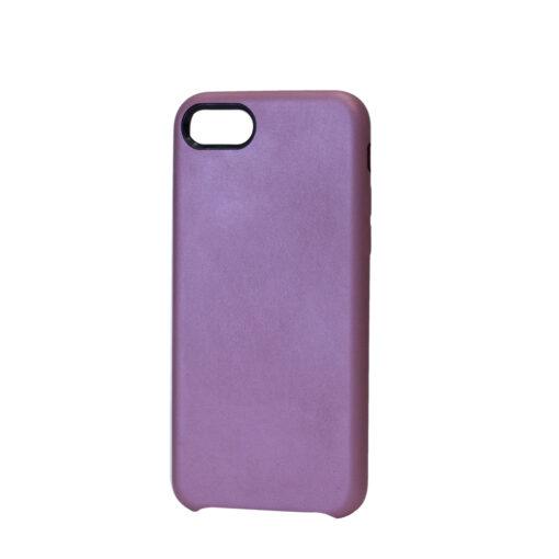 iPhone 8 Plus kaaned ja iPhone 7 Plus kaaned kunstnahast roosa