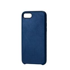 iPhone 8 Plus kaaned ja iPhone 7 Plus kaaned kunstnahast sininsed