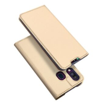 Samsung A40 nahast Dux Ducis kaaned