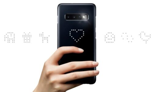 Samsung S10e must LED ümbris originaal EF KG970CBEGWW 10