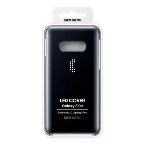 Samsung S10e must LED ümbris originaal EF KG970CBEGWW 6