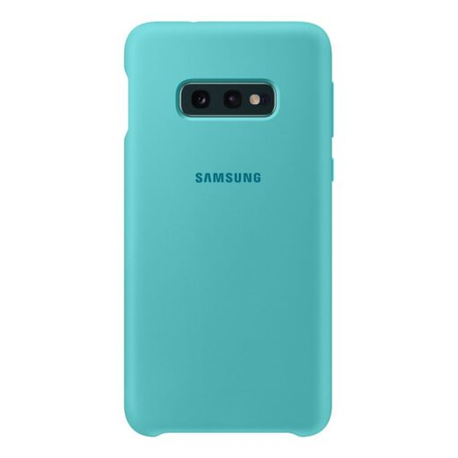 Samsung S10e ümbris silikoonist roheline