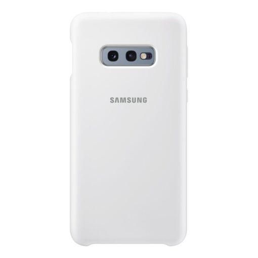 Samsung S10e ümbris silikoonist valge