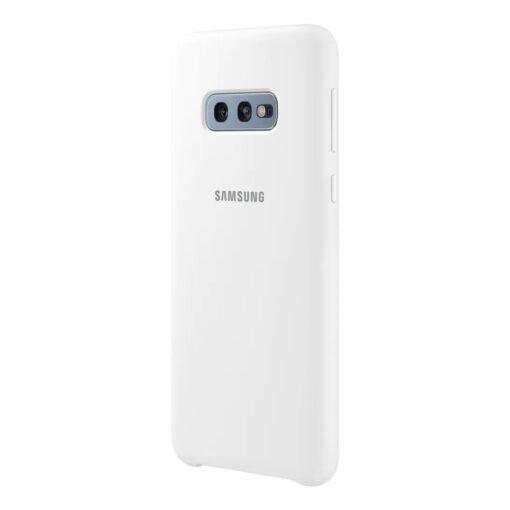 Samsung S10e silikoonist ümbris valge EF PG970TWEGWW 2