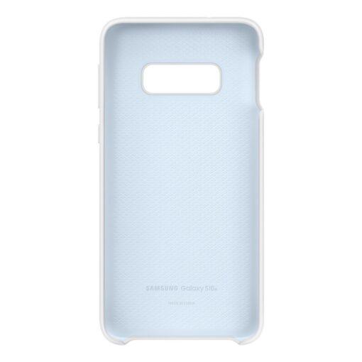 Samsung S10e silikoonist ümbris valge EF PG970TWEGWW 3