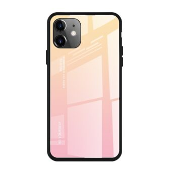 iPhone 11 ümbris gradient roosa