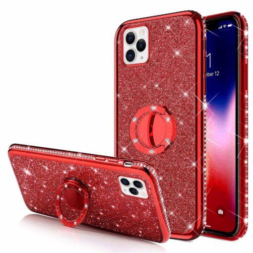 iPhone 11 ümbris punane silikoonist 2