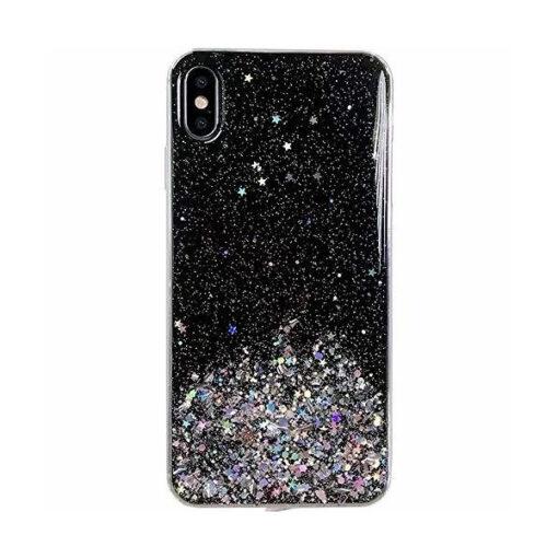 iPhone 11 ümbris sädelev tähtedega silikoonist