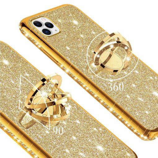 iPhone 11 ümbris teemant kuldne 1