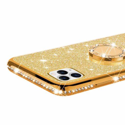 iPhone 11 ümbris teemant kuldne 3