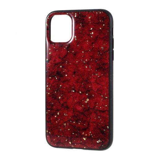 iPhone 11 kaaned silikoonist art punane 6