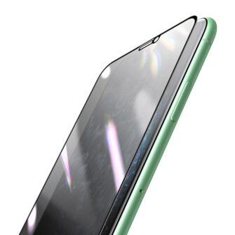 iPhone 11 privaatsusfiltriga kaitseklaas kaitsekile privacy 3