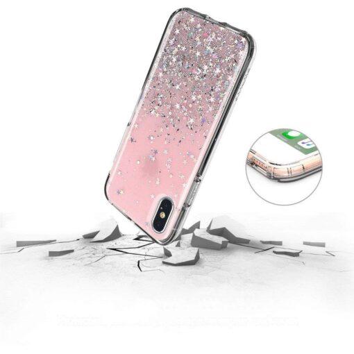 iPhone 11 silikoonist sädelev ümbris 3