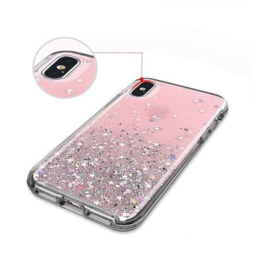 iPhone 11 silikoonist sädelev ümbris 5