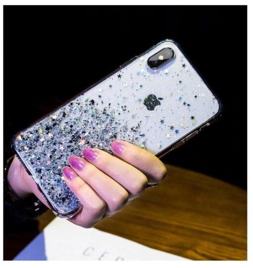 iPhone 11 silikoonist sädelev ümbris 6