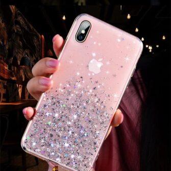 iPhone 11 silikoonist sädelev ümbris 7