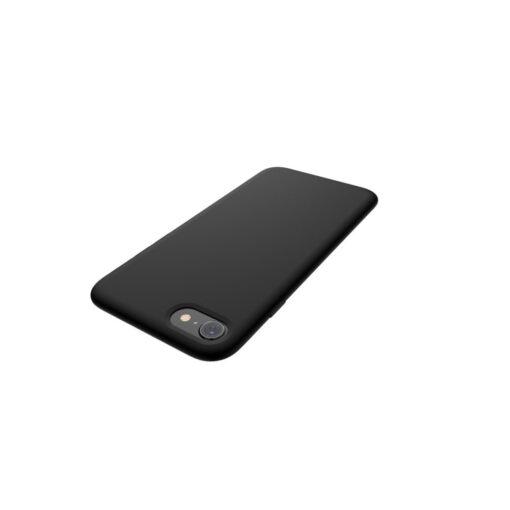 iPhone SE 2020 iphone 7 iphone 8 ümbris silikoonist must 5