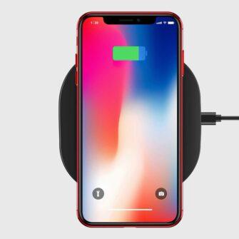 iPhone XS ja X ümbris silikoonist punaste servadega 10