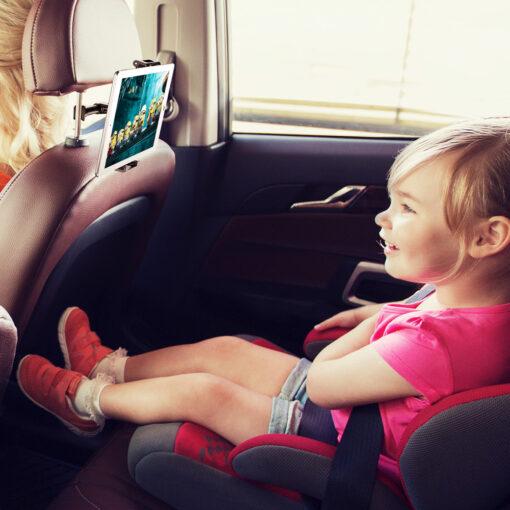 tahvelarvuti ja telefoni hoidja auto peatugedele 9