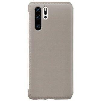 Huawei P30 kaitsekaaned khaki kunstnahast 3