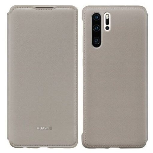 Huawei P30 kaitsekaaned khaki kunstnahast 5