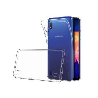 Samsung A10 kaaned silikoonist läbipaistev 2