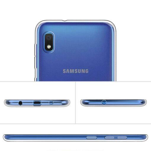 Samsung A10 kaaned silikoonist läbipaistev 3