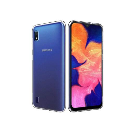Samsung A10 kaaned silikoonist läbipaistev