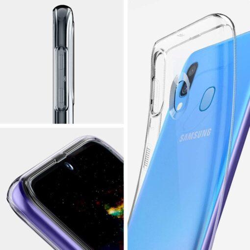 Samsung A40 ümbris silikoonist läbipaistev 1